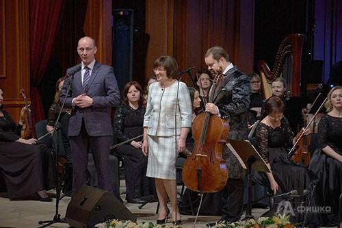 Торжественная церемония открытия VII фестиаля «Борислав Струлёв и друзья» в Белгороде