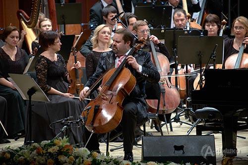 Соло на виолончели Борислава Струлёва