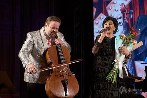 Борислав Струлёв и Нани Брегвадзе в концерте открытия VII BelgorodMusicFest «Борислав Струлев и друзья»
